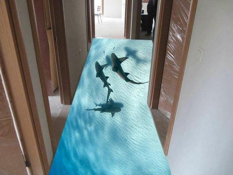 17個令人驚豔的3D地板,每個人都想踩踩看!
